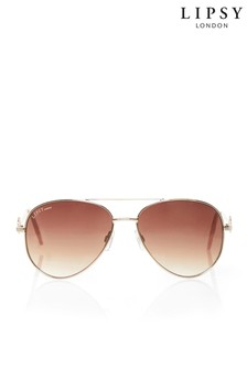 Lipsy Diamanté Aviator Sunglasses