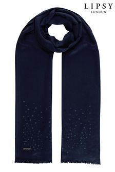 Lipsy Sequin Lightweight Scarf