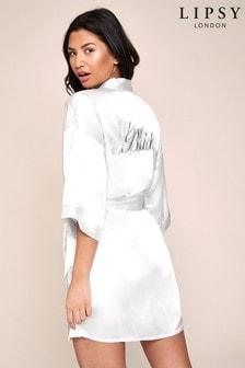 Lipsy Bridal Satin Robe