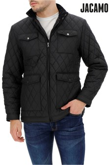 Jacamo Plus Size Four-Pocket Quilted Jacket