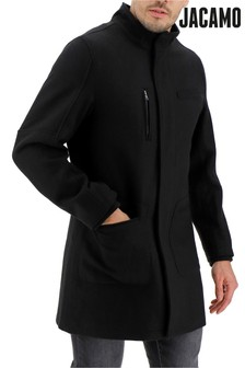 Jacamo Funnel Neck Coat