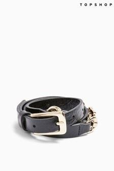 Topshop Snaffle Link Skinny Belt