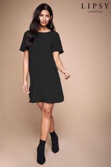 Lipsy Frill Shift Dress