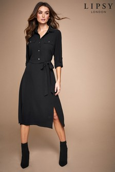 Lipsy Midi Shirt Dress