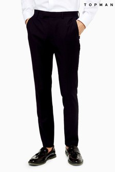 Topman Super Skinny Suit Trousers