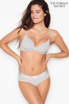 Victoria's Secret Stretch Cotton Logo Hiphugger Panty
