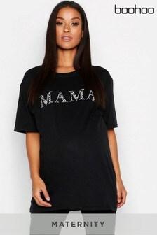 Boohoo Maternity Mama T-Shirt