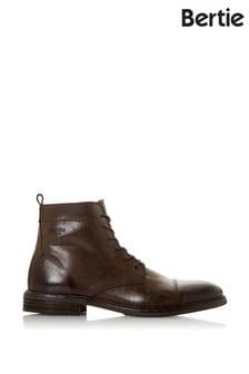 Bertie Distressed Zip Boots