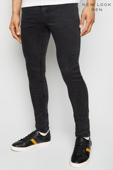 New Look Washed Skinny Stretch Jeans