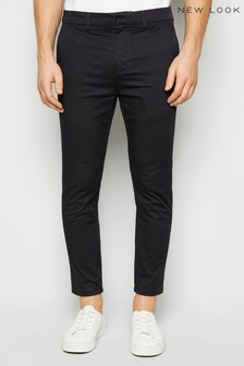 New Look Skinny Stretch Cropped Trousers