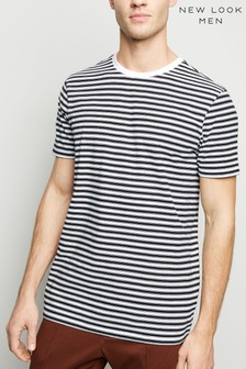 New Look Stripe Short Sleeve T-Shirt