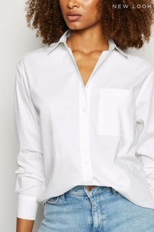 New Look Long Sleeve Button Up Shirt
