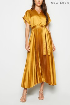 New Look Pleated Midi Dress