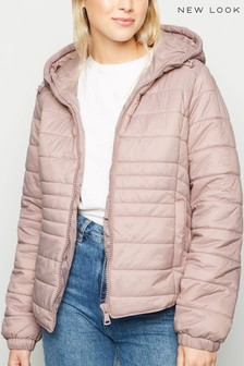 New Look Hooded Padded Jacket