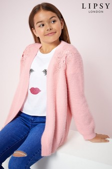 Lipsy Girl Lace Detail Cardigan