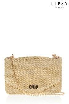 Lipsy Raffia Crossbody Bag