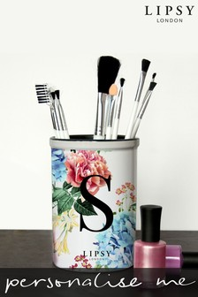 Personalised Lipsy Brush Holder By Treat Republic