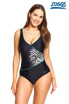 Zoggs Wrap Front Swimsuit