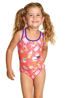 Zoggs Ice Dream Actionback Swimsuit