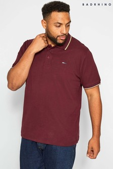 BadRhino New Tipped Polo T-Shirt
