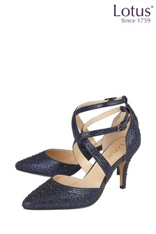 Lotus Diamanté Heeled Occasion Shoes