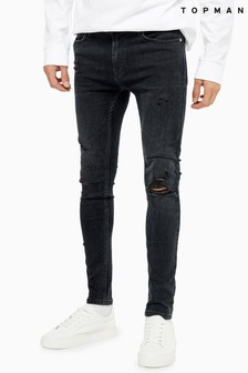 Topman Denim Skinny Jeans