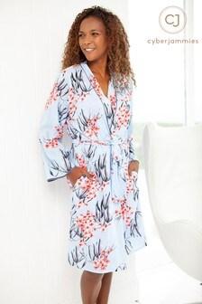 Cyberjammies Olivia Floral Short Robe