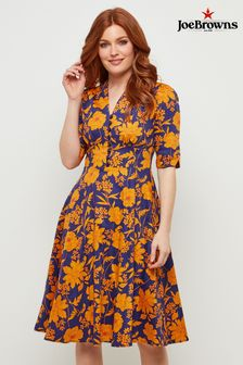 Joe Browns Golden Floral Dress