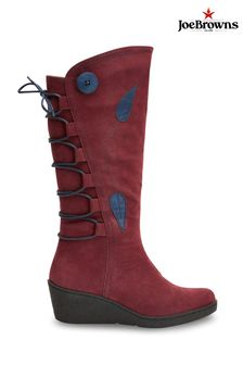 Joe Browns Feeling Free Lace Back Boots