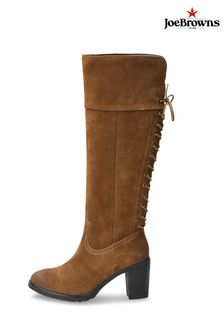Joe Browns Bella Suede Lace Back Boots