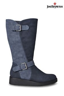 Joe Browns Happiness Buckle Wedge Boots