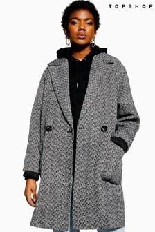 Topshop Herringbone Jacket
