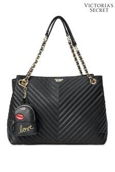 Victoria's Secret Embellished Backpack Keychain