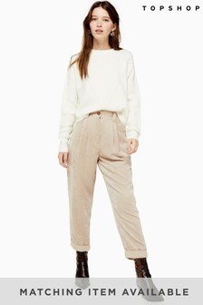 Topshop Co-ord Peg Trousers