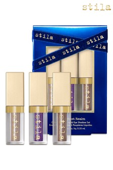 Stila The Highest Realm Glitter And Glow Liquid Eye Shadow Set 3 x 2.25ml (Worth £36)