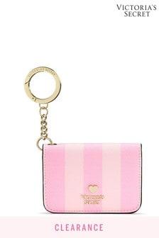 Victoria's Secret Signature Stripe Foldable Card Case