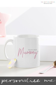Personalised Mummy Mug By Gift Collective