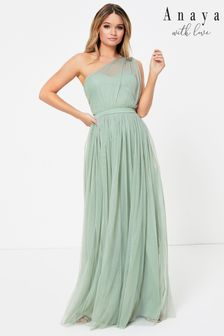 Anaya With Love One Shoulder Maxi Dress