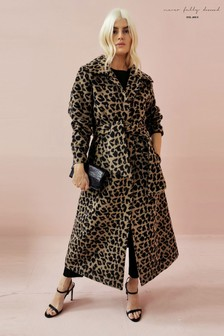 Never Fully Dressed Leopard Coat