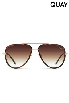 Quay X Aviator Sunglasses