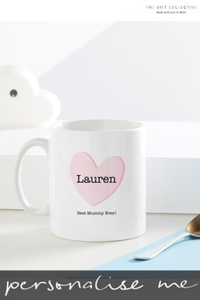 Personalised Best Mummy Mug By Gift Collective