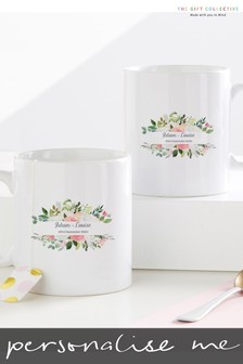 Personalised Wedding Mug Set By Gift Collective