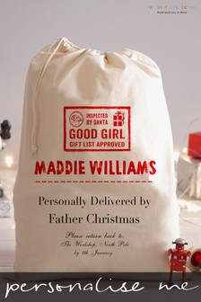 Personalised Santa Sack By Gift Collective