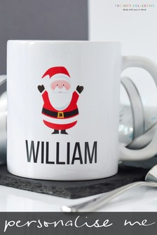 Personalised Father Christmas Mug By Gift Collective