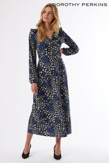 Dorothy Perkins Floral  V Midi Dress
