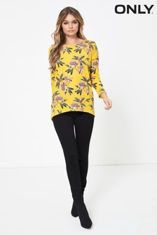 Only Printed Lightweight Knitted Top