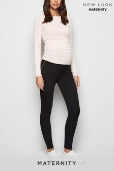 New Look Maternity Zip Leggings