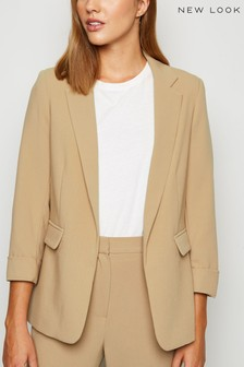 New Look Roll Sleeve Blazer