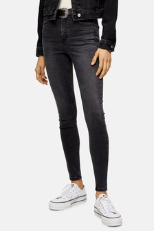 Topshop Washed Jamie Jeans