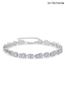 Jon Richard Bridal Crystal Allway Baguette Bracelet